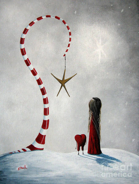 Wall Art - Painting - A Starlit Wish By Shawna Erback by Erback Art