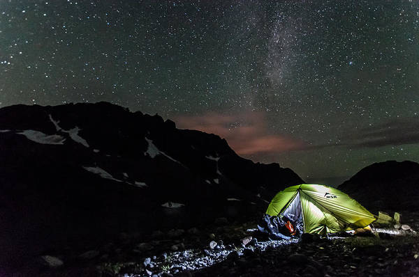 Whistler Photograph - A Starry Night  by Ian Stotesbury