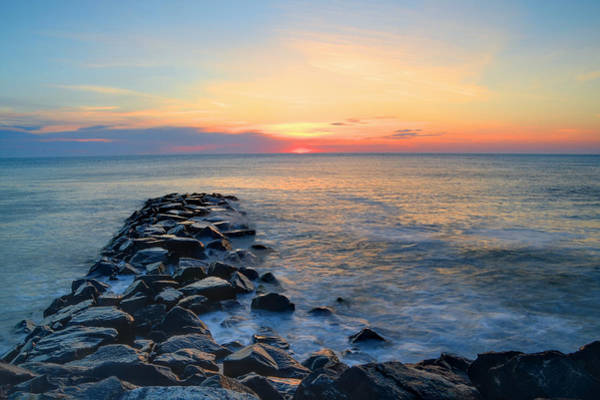 Jetti Wall Art - Photograph - A Start To The Day  by Bill Cannon