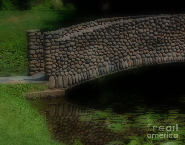 Photograph - A Stone Bridge by Smilin Eyes  Treasures