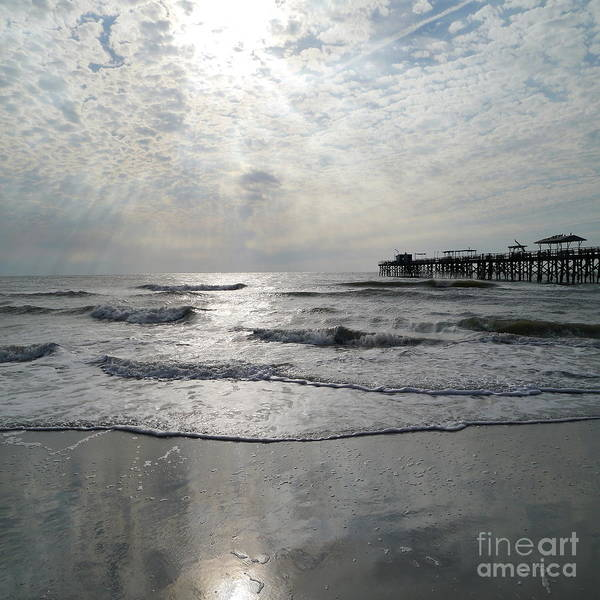 Wall Art - Photograph - A Stormy Winter Day At The Gulf Coast by Christiane Schulze Art And Photography