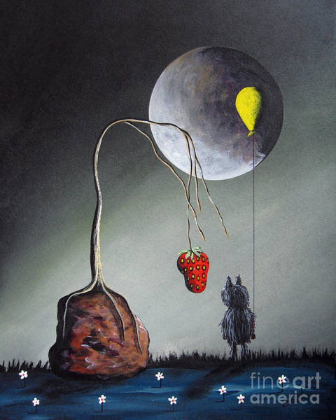 Wall Art - Painting - A Strange Dream By Shawna Erback by Erback Art