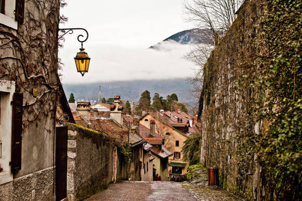 Lighting Equipment Photograph - A Street Scene In Annecy, France by Rob Hammer