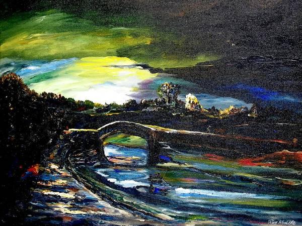 A Study Of Light Art Print