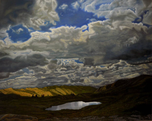 Wall Art - Painting - A Summer Day On Cottonwood Pass by Thu Nguyen