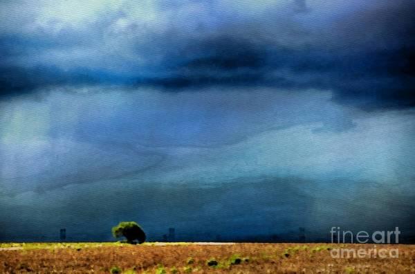 Photograph - A Summer Rain Wc by Ken Williams