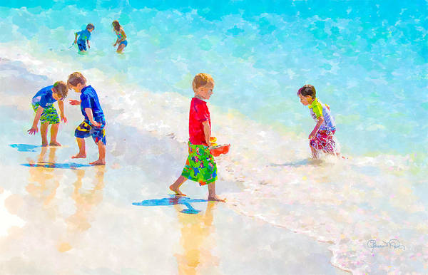 Digital Art - A Summer To Remember by Susan Molnar