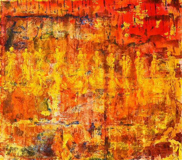 Painting - A Sunset Of Angels by Giorgio Tuscani