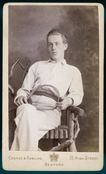 Wall Art - Photograph - A Superior Looking Young Man  Sits by Mary Evans Picture Library