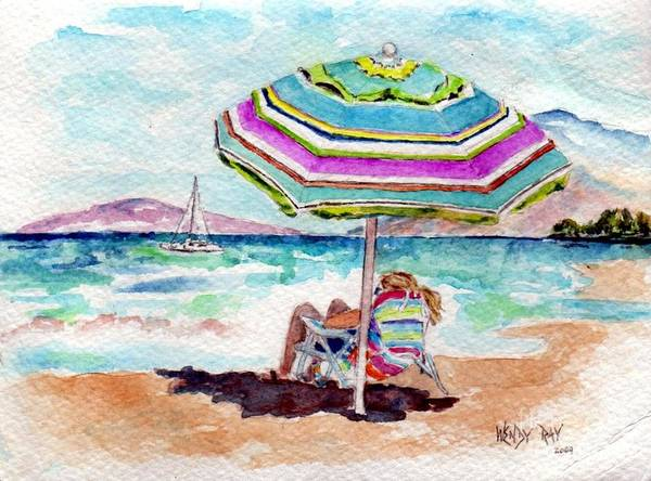 Painting - A Sweet Day In Maui by Wendy Ray