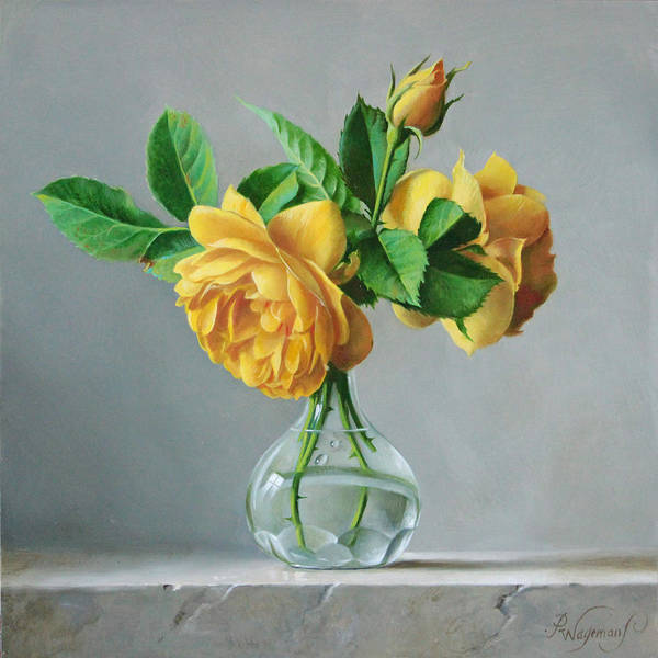 English Wall Art - Painting - A Symbol by Pieter Wagemans