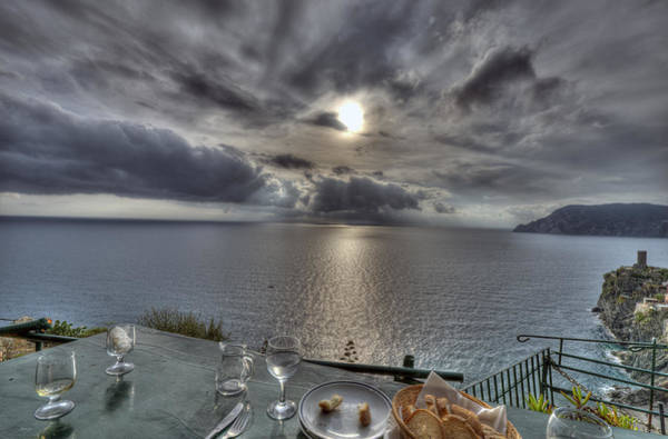 Photograph - A Table With A View by Matt Swinden
