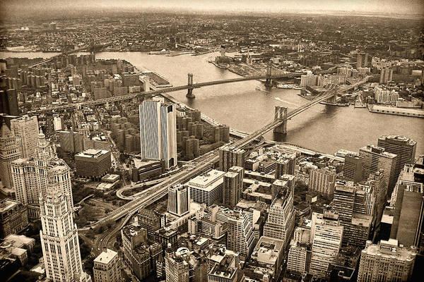 Photograph - A Tale Of Two Bridges 2 by Joann Vitali