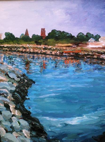 Painting - A Taste Of Fairhaven by Ray Khalife