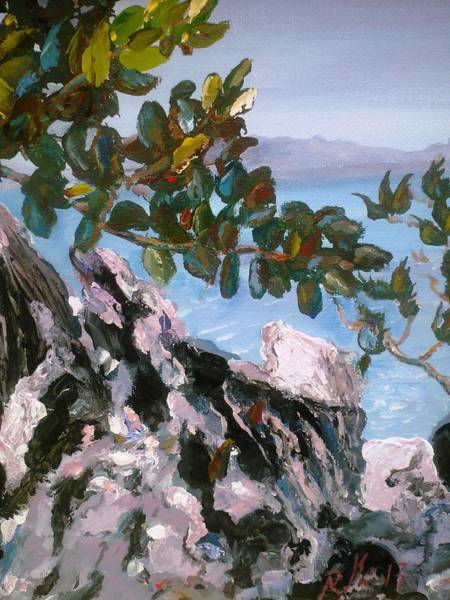 Painting - A Taste Of Labadee by Ray Khalife
