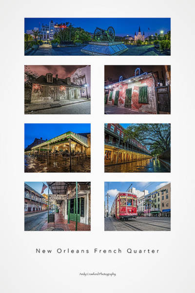 Photograph - A Taste Of The French Quarter by Andy Crawford