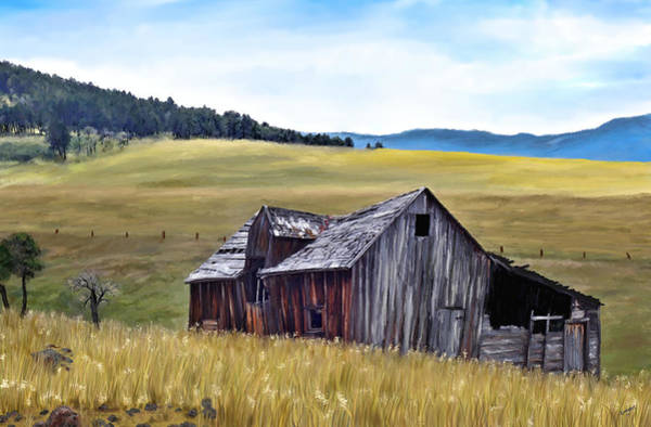 Painting - A Time In Montana by Susan Kinney