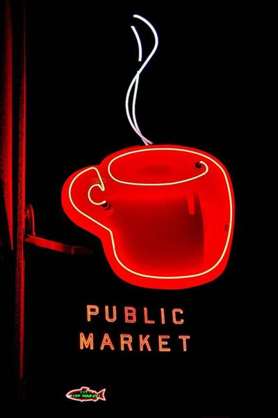 Coffee Mug Photograph - A Toast To Seattles Best by Benjamin Yeager