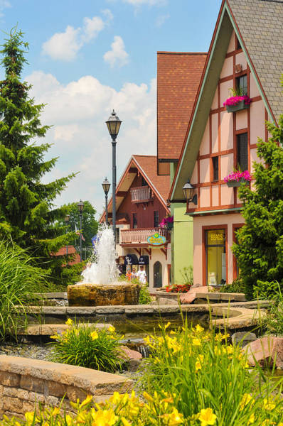 Frankenmuth Photograph - A Touch Of Germany by Kenneth Sponsler