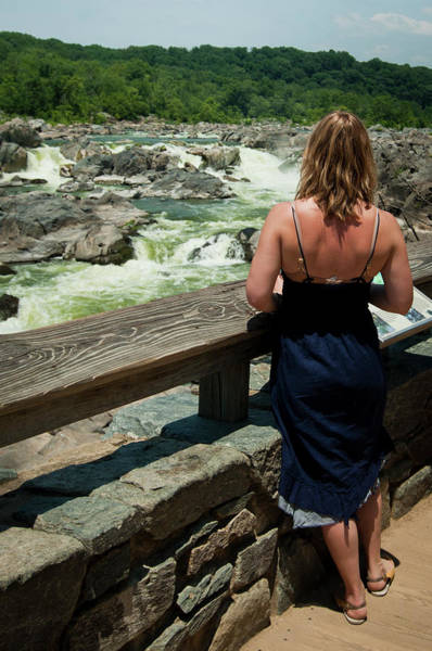 Chesapeake And Ohio Wall Art - Photograph - A Toursits Takes In The Views by Jeremy Wade Shockley