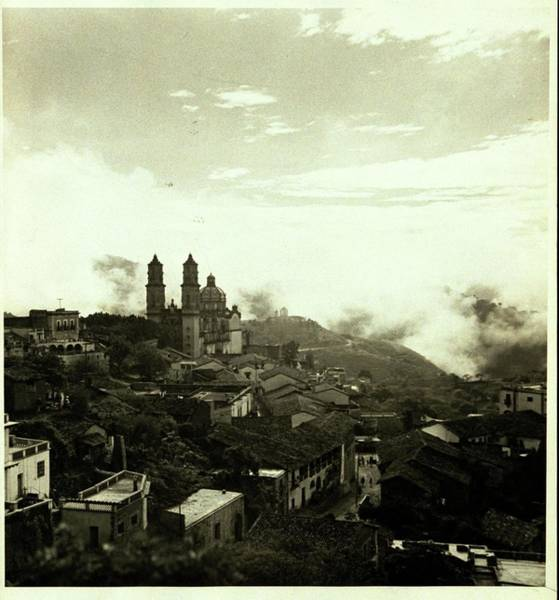 Urban Scene Photograph - A Town In Mexico by Fredrich Baker