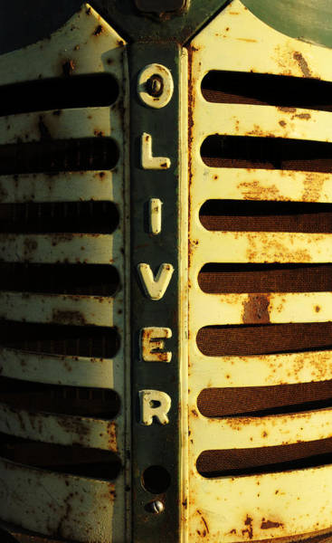 Wall Art - Photograph - A Tractor Named Oliver by Luke Moore