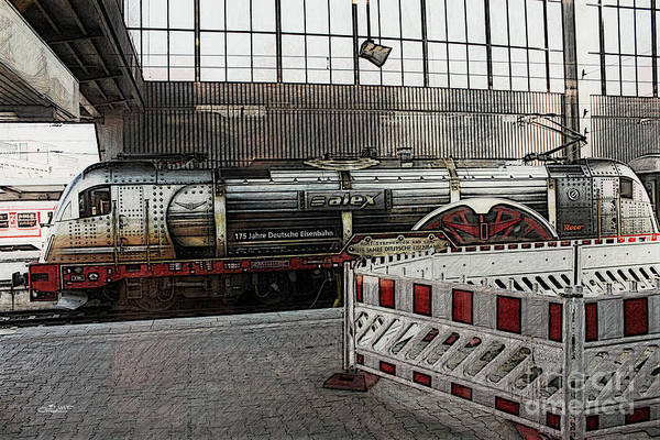 Photograph - A Train Called Alex by Jutta Maria Pusl