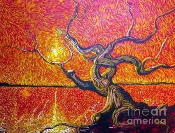 Angel Oak Painting - A Tree Of Heart by Stefan Duncan