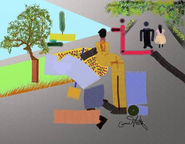 Painting - A Trip Through The Park by Eugene Foltuz