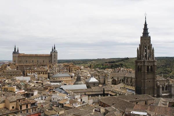 Photograph - A View From The Iglesia De San Ildefonso  by Lorraine Devon Wilke