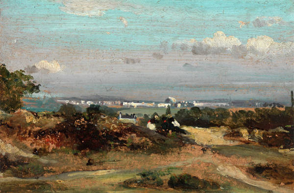 Wall Art - Painting - A View In Suffolk by Litz Collection