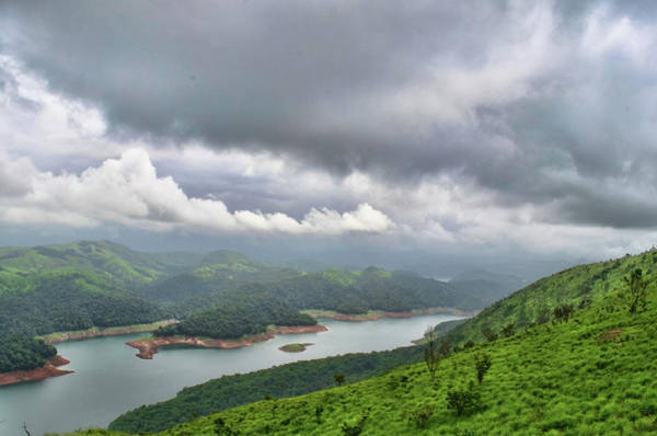 Kerala Photograph - A View Of Idukki Reservoir by Through The Beauty Of Kerala .....