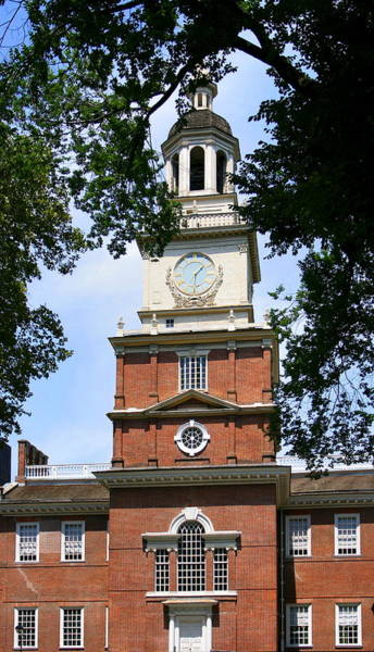 Photograph - A View Of Independence Hall by Angela Rath