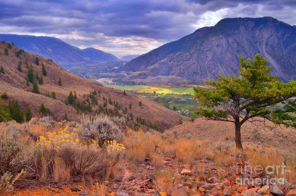 Desert View Tower Photograph - A View Of Keremeos by Tara Turner