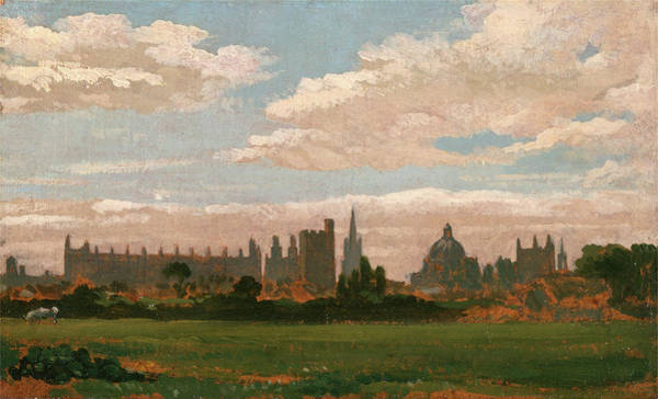 Wall Art - Painting - A View Of Oxford, William Turner Of Oxford by Litz Collection