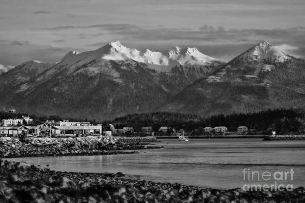 Wall Art - Photograph - A View Of Sitka Bw by Scarlett Images Photography