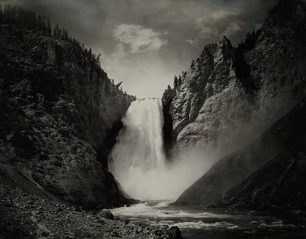 Wall Art - Photograph - A View Of The Great Falls by Albert Schlecten