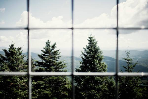 Waitsfield Photograph - A View Of The Mountains Through A Ski by Corey Hendrickson