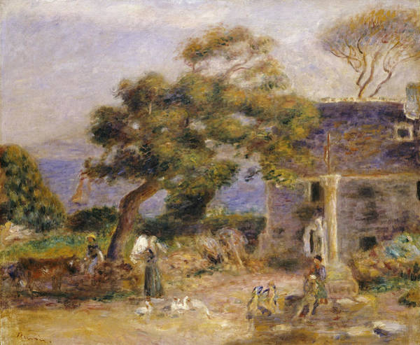 Painting - A View Of Treboul by Celestial Images
