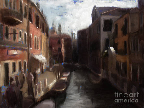 A View Of Venice Art Print