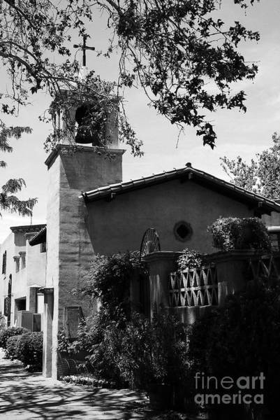 Photograph - A Village Chapel 2 Bw by Mel Steinhauer