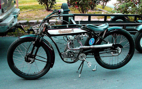 Photograph - A Vintage Bike Gathering 2013 by Joseph Coulombe