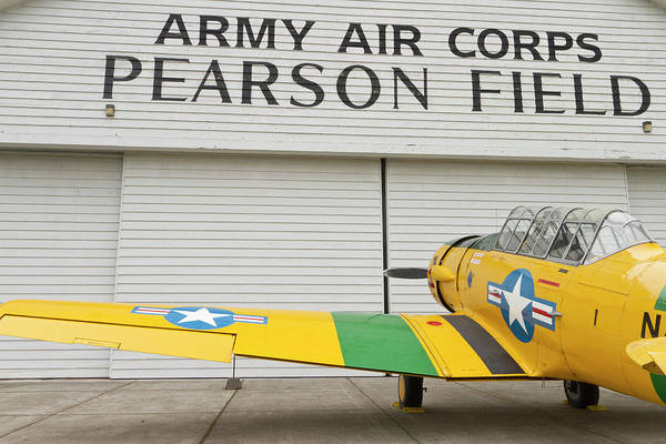 Army Air Corps Photograph - A Vintage World War II Military Trainer by William Sutton