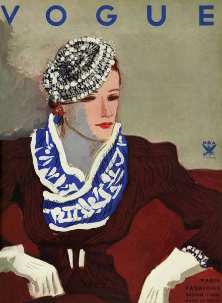 Photograph - A Vogue Cover Illustration Of A Woman by Eduardo Garcia Benito