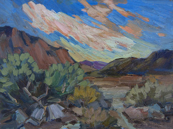 Wall Art - Painting - A Walk In La Quinta Cove 2 by Diane McClary