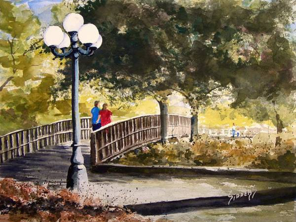 Painting - A Walk In The Park by Sam Sidders