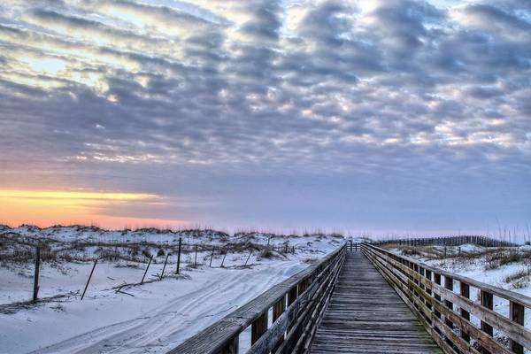 Photograph - A Walk On Gulf Shores  by JC Findley