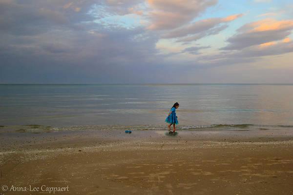 Wall Art - Photograph - A Walk On The Beach by Anna-Lee Cappaert