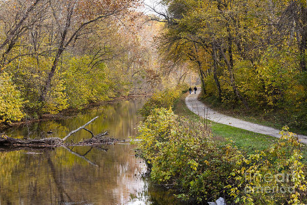 Wall Art - Photograph - A Walk On The C And O Canal Towpath In Maryland In Autumn by William Kuta