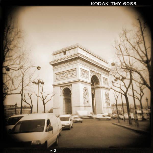 Arc Wall Art - Photograph - A Walk Through Paris 2 by Mike McGlothlen